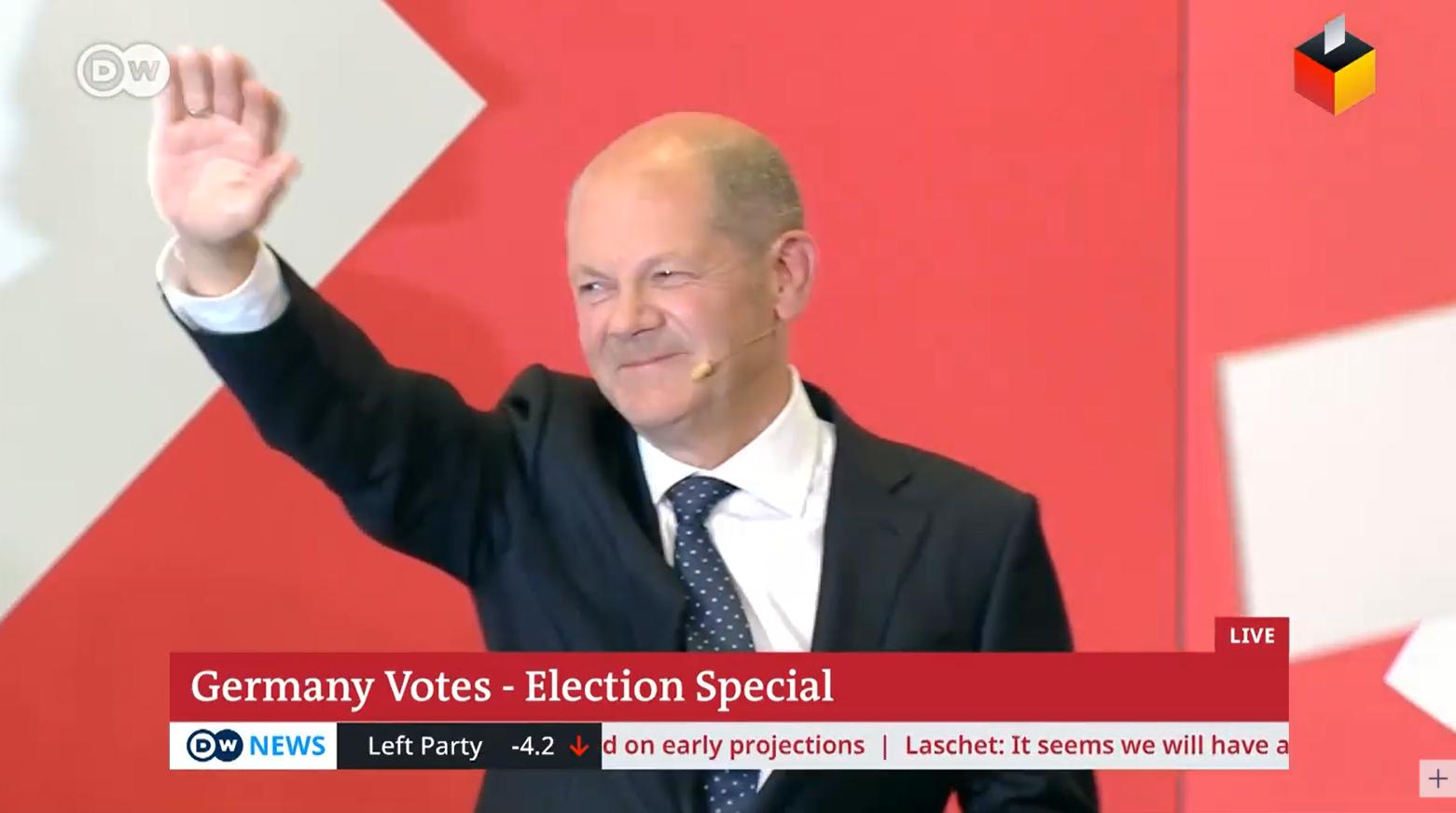Olaf Šolc Nemačka izborni štab