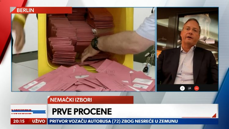 GOST Bojan Predojević FORUM SRBIJA-NEMAČKA