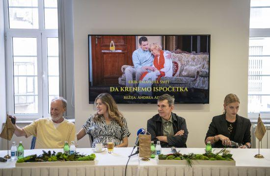 Ivica Klemenc, Andrea Ada Lazić, Slavko Štimac i Tamara Aleksić