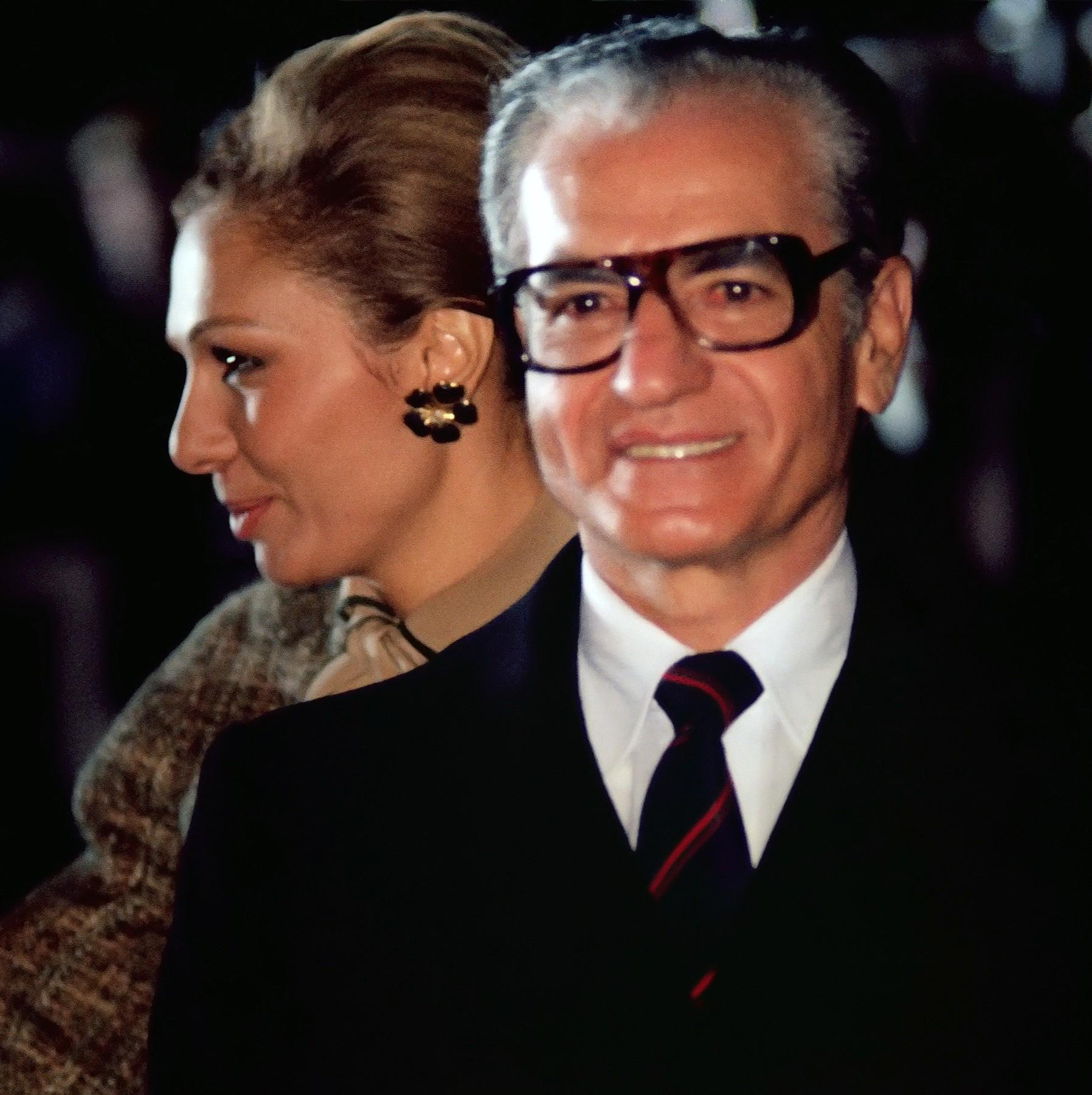 šah Reza Pavli sa suprugom