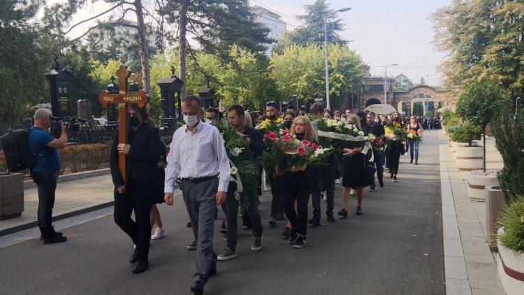 Nenad Nenadović sahrana povorka