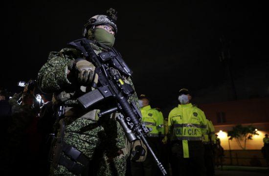 Kolumbija, policija
