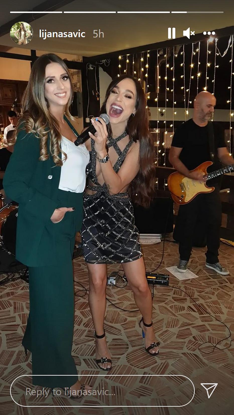 Lijana Savić i Edita Aradinović