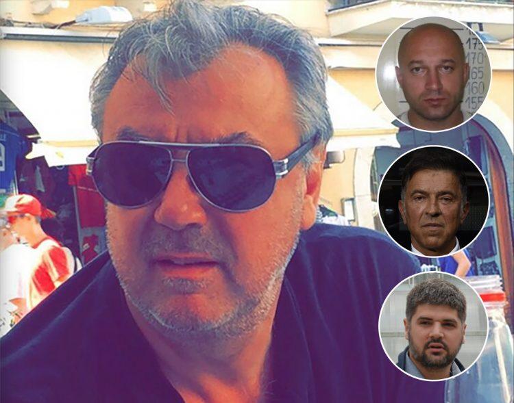 Sudija Zoran Savić, Zvonko Veselinović, Stanko Subotić Cane, Predrag Koluvija,