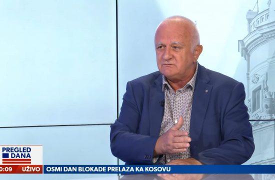 Dušan Janjić, gost, emisija Pregled dana Newsmax Adria