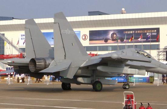Sajam borbenih aviona u Kini