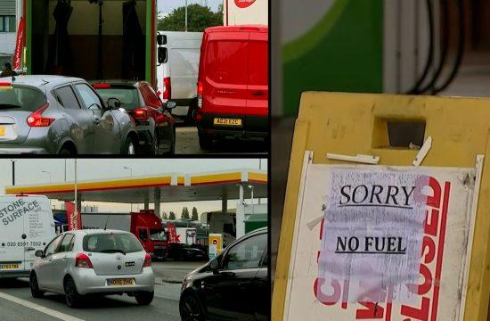 Nestašica goriva Engleska