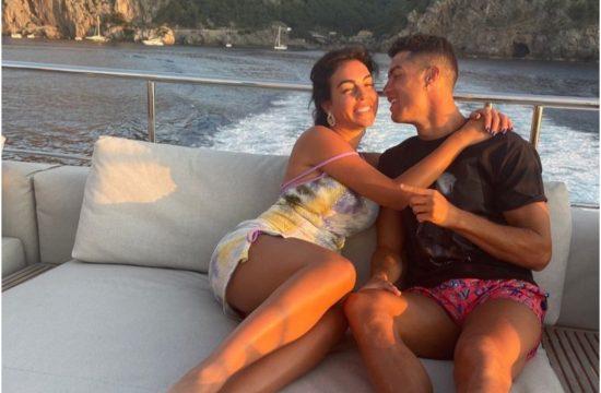 Kristijano Ronaldo i Georgina Rodrigez
