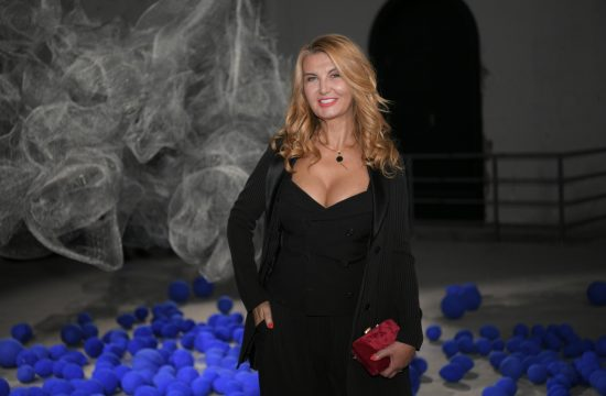 Vesna Dedić Izložba kosmički ritmovi vizuelne umetnice Milene Mijović Durutović, Bioskop Balkan