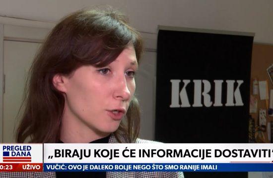 Novinari, samim tim i javnost, teško dolaze do informacija od sudova i tužilaštva