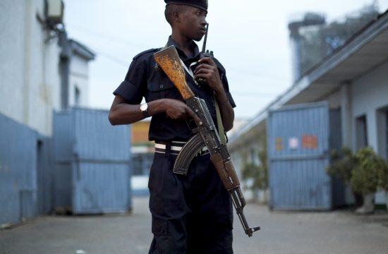 Ruanda policija
