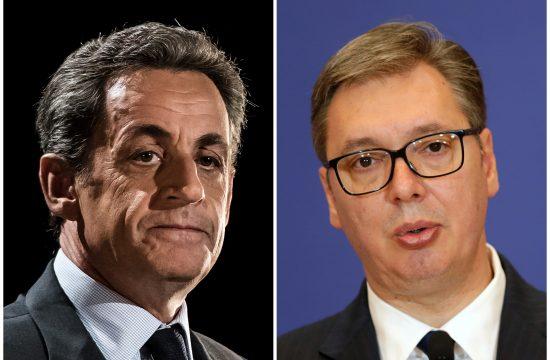 Nikola Sarkozi i Aleksandar Vučić Nikola Sarkozi Nicolas Sarkozy