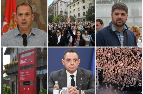 Zlatibor Lončar, Koluvija, Rio Tinto, protest advokata, Aleksandar Vulin, navijači