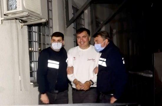 Mihail Sakašvili hapšenje
