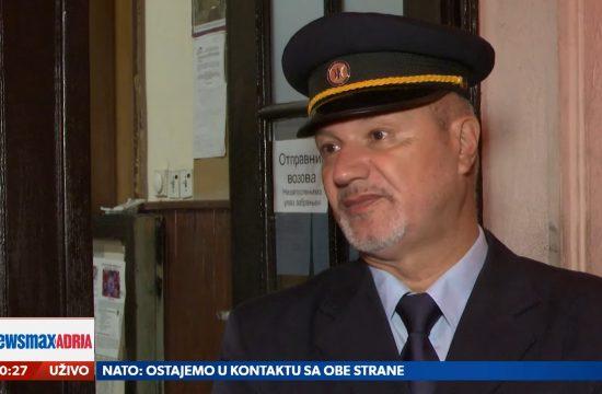 Slaviša Jovanović, Voz, Poslednja Topčiderska noć, prilog, emisija Pregled dana Newsmax Adria
