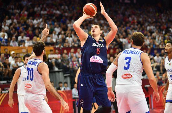 Nikola Jokić u dresu Srbije