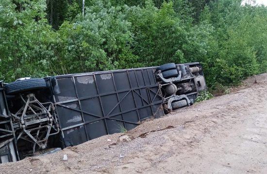 Rusija, autobus, nesreća