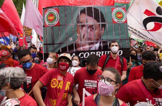 Brazil, protest, Bolsonaro
