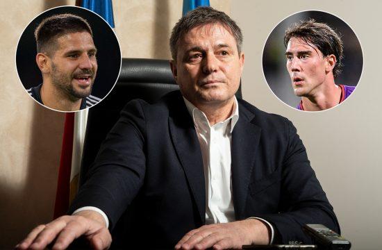 Dragan Stojković Piksi, Aleksandar Mitrović i Dušan Vlahović