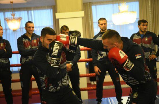 Boksersa reprezentacija Srbije, boks, reprezentacija, trenig, izjave
