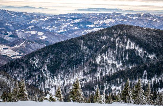 Sneg, Kopaonik