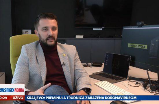 Jovan Stojanović, Startapovi, Šta koči talentovane mlade ljude u Srbiji da pokrenu startap, emisija Pregled dana Newsmax Adria