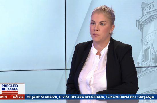 Ksenija Bulatović, direktorka prodaje SBB. gost, emisija Pregled dana Newsmax Adria