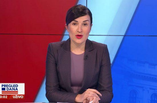 Jelena Obućina, emisija Pregled dana Newsmax Adria