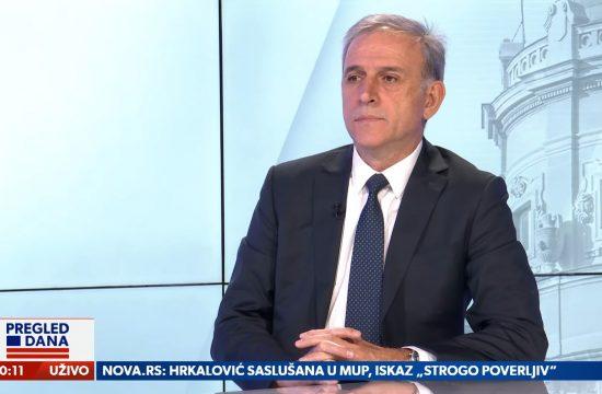 Zdravko Ponoš, gost, emisija Pregled dana Newsmax Adria