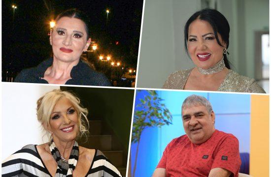 Mira Škorić, Zlata Petrović, Dragica Radosavljević Cakana, Ljuba Aličić