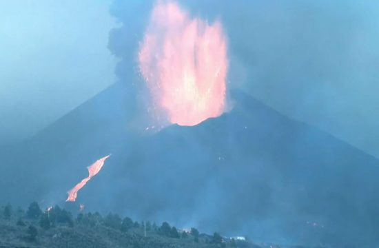 La Palma eksplozija vulkan
