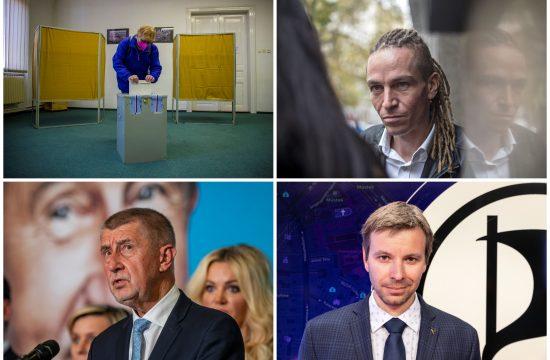 Češka, glasanje, Ivan Bartoš, Andrej Babiš, Marcel Kolaja