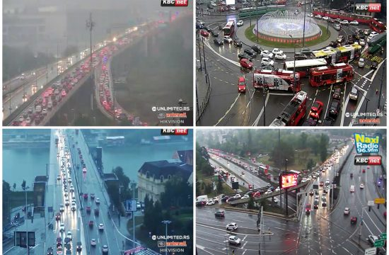 Gazela, Slavija, Brankov most, Autokomanda, gužva, gužve