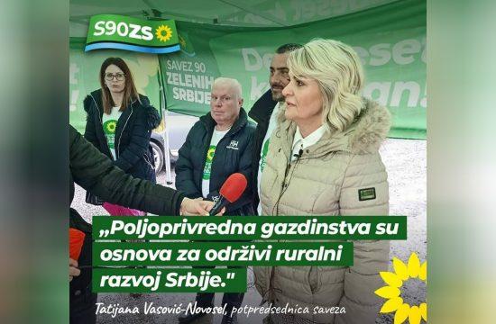 Saopštenje stranke Saveza 90/Zelenih Srbije