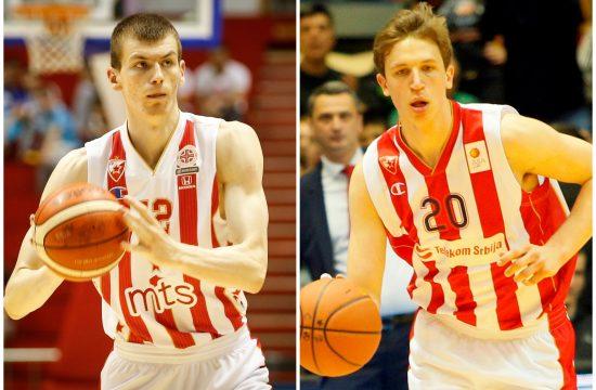 Boriša Simanić i Aleksa Radanov