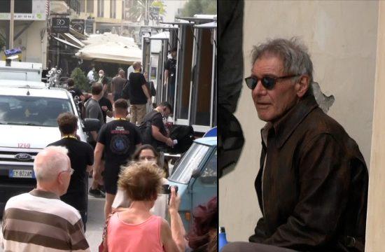 Harison Ford na snimanju u Italiji