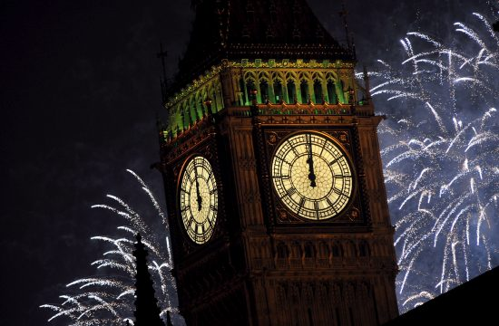 London vatromet Nova godina