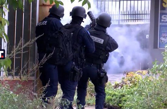 Zvečan kosovska policija