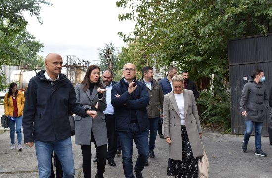 Novi Sad, HINS, Hemijska industrija Novi Sad, čišćenje