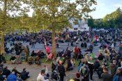 Slovenija, Ljubljana, protest, demonstracije, koronavirus, mere