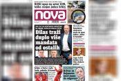 Nova, naslovna za četvrtak, 14. oktobar, broj 892, dnevne novine Nova, dnevni list Nova Nova.rs