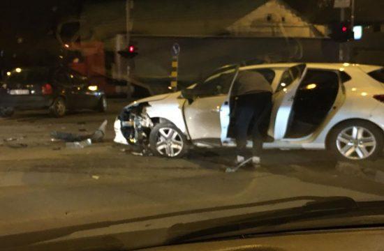Novi Sad, udes, saobraćajna nesreća, ugao Partizanske i Temerinske ulice, hronika