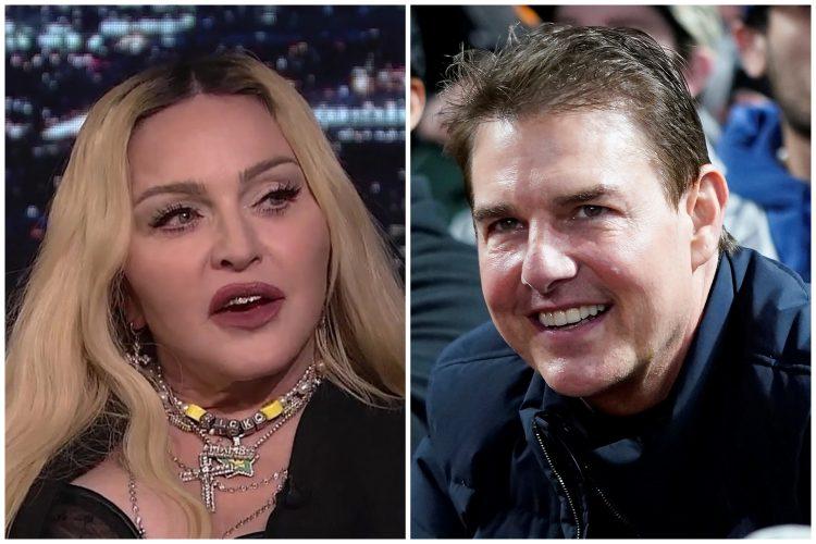 Madona i Tom Kruz Madonna Tom Cruise