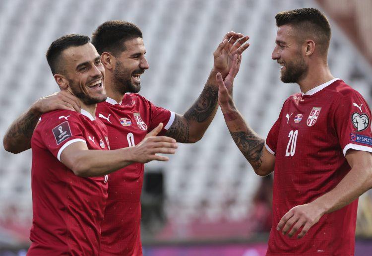 Filip Kostić, Aleksandar Mitrović i Sergej Milinković-Savić, Fudbalska reprezentacija Srbije