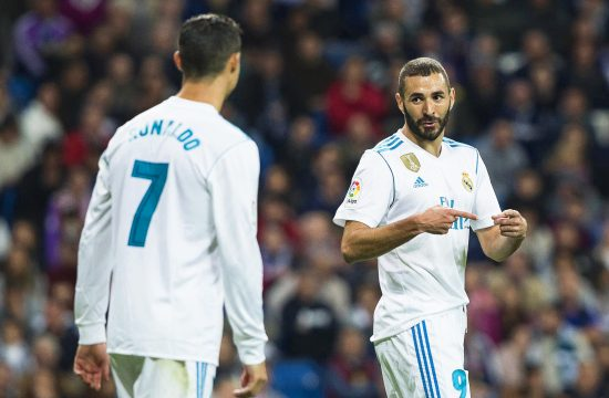 Kristijano Ronaldo i Karim Benzema