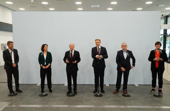 Nemačka vlada pregovori Šolc Berbok Linder