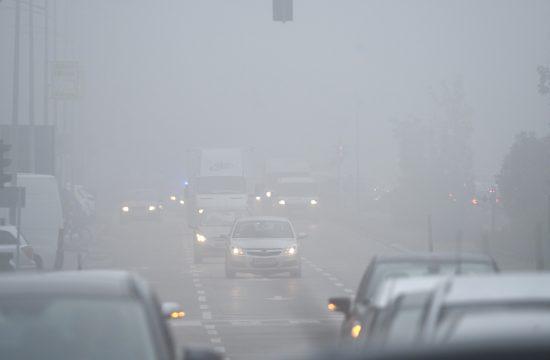 Novi Sad magla