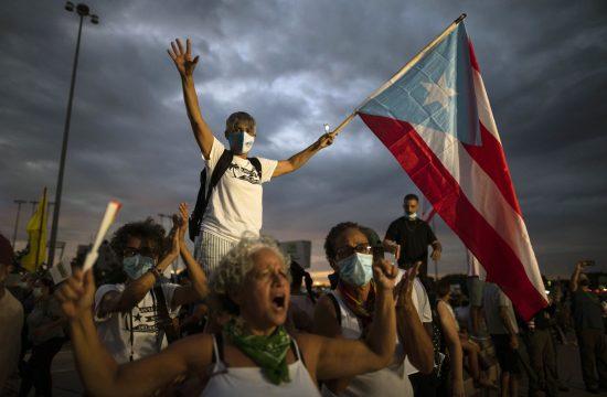 Portoriko, protest, struja