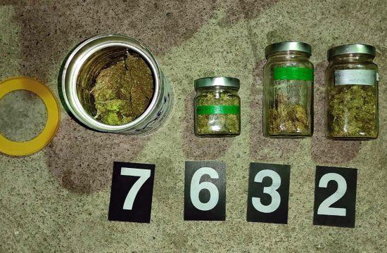 Soko banja, marihurana, trava, droga, zaplena