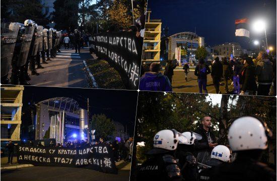"Protest ultranacionalisticke organizacije ""Narodna patrola"""